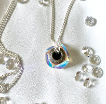 Load image into Gallery viewer, Charm Necklace with Swarovski Crystals