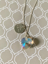 Load image into Gallery viewer, Forever in my Heart Silver 925  Necklace