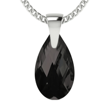Load image into Gallery viewer, Black Drop Pendant