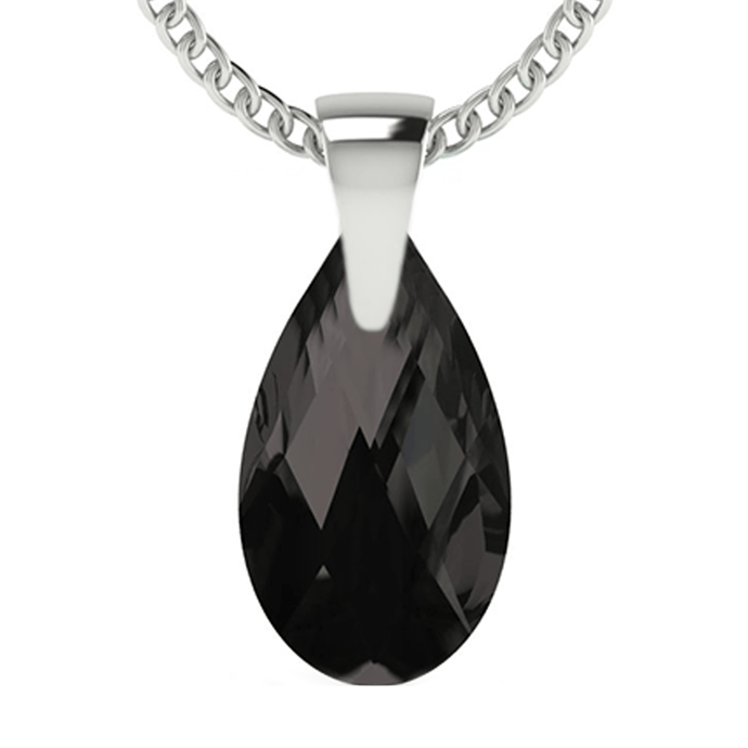 Black Drop Pendant