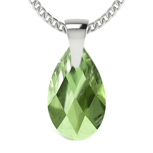 Load image into Gallery viewer, Green Drop Pendant