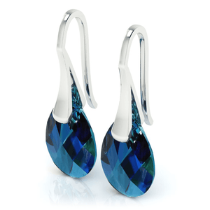Bermuda Blue Drop Earrings