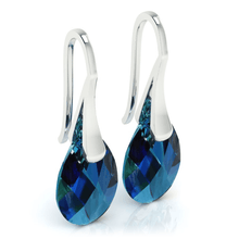 Load image into Gallery viewer, Bermuda Blue Drop Earrings