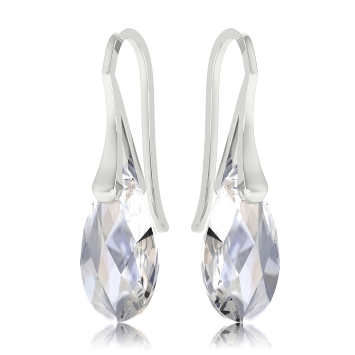 Moonlight Clear Drop Earrings