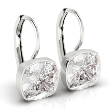 Load image into Gallery viewer, Clear Square Earrings