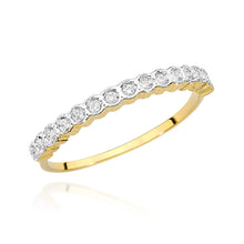 Load image into Gallery viewer, 14K Gold Diamond Ring Half Eternity  RCBC-034