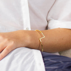 Joint Bangle Silver
