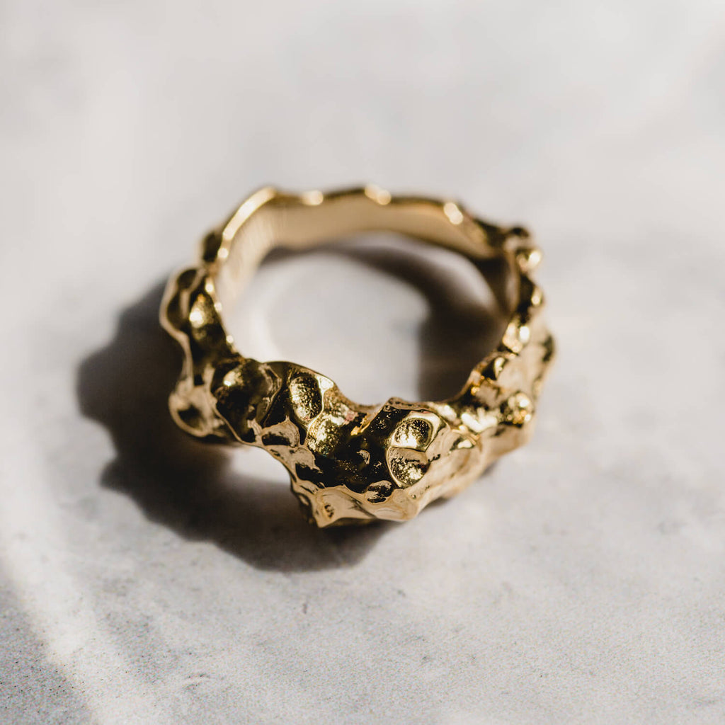Meteor Ring Gold