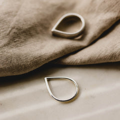 Point Ring Silver