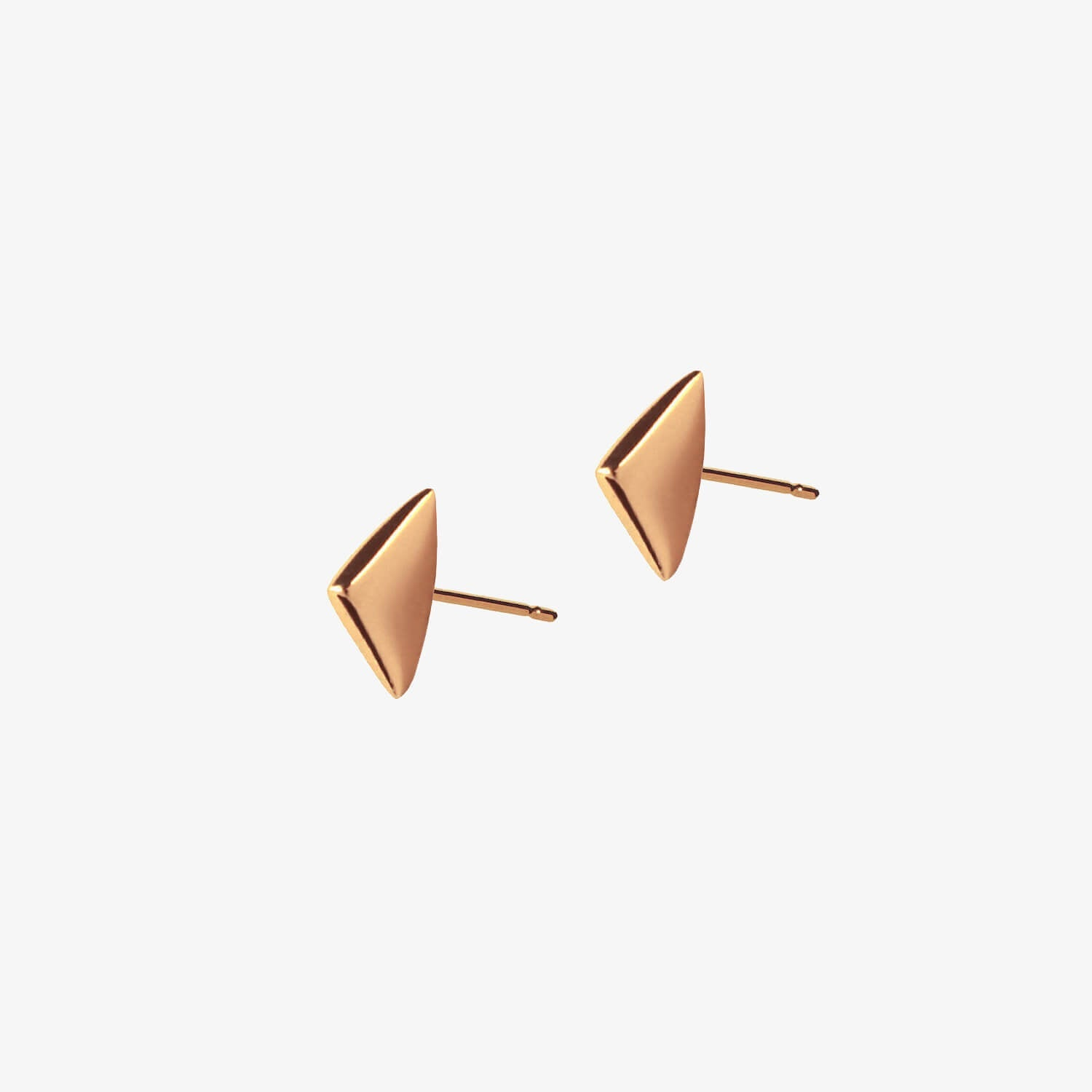 Thorn Studs Rose Gold