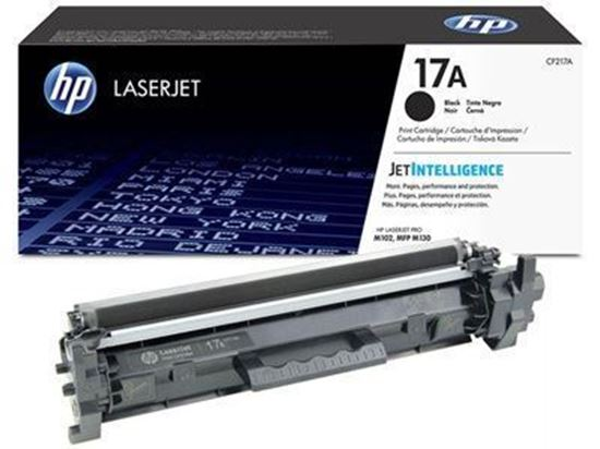 HP 17A Laser Original Toner (BLACK)