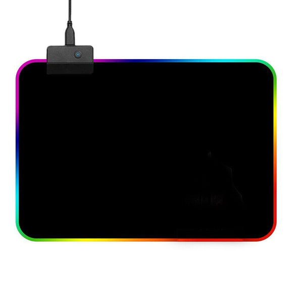Gaming Mouse Pad RGB LED Light Color Switching For Computer Laptop Colorfull - E Store