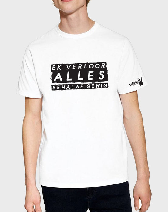 Sarkasties Verloor Alles Men's T-shirt - komedie