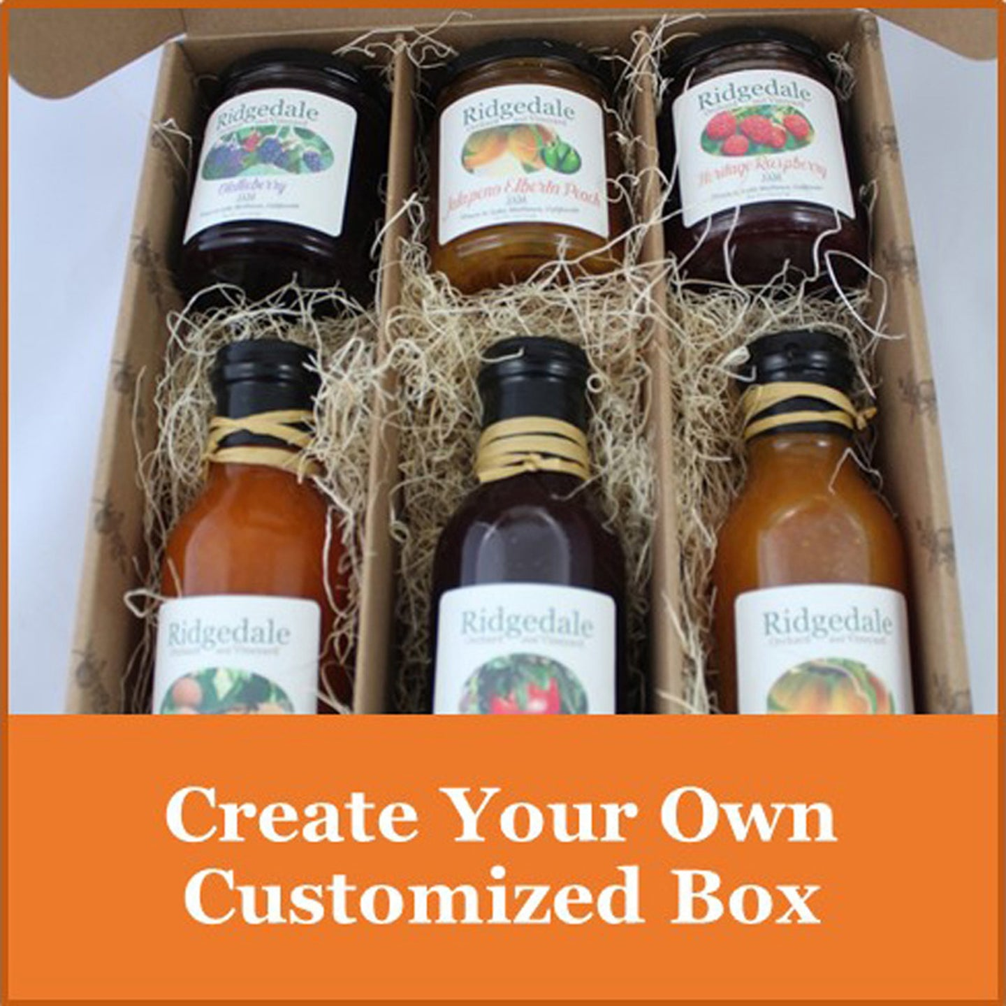 Custom Assortments & Gifts - Ridgedale Orchard & Vineyard