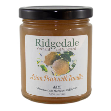 Hosui Asian Pear Jam with Vanilla - Ridgedale Orchard & Vineyard