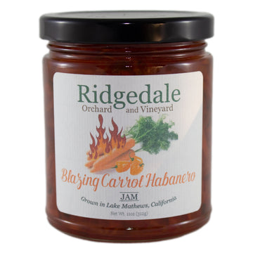 Blazing Carrot Habanero Jam - Ridgedale Orchard & Vineyard