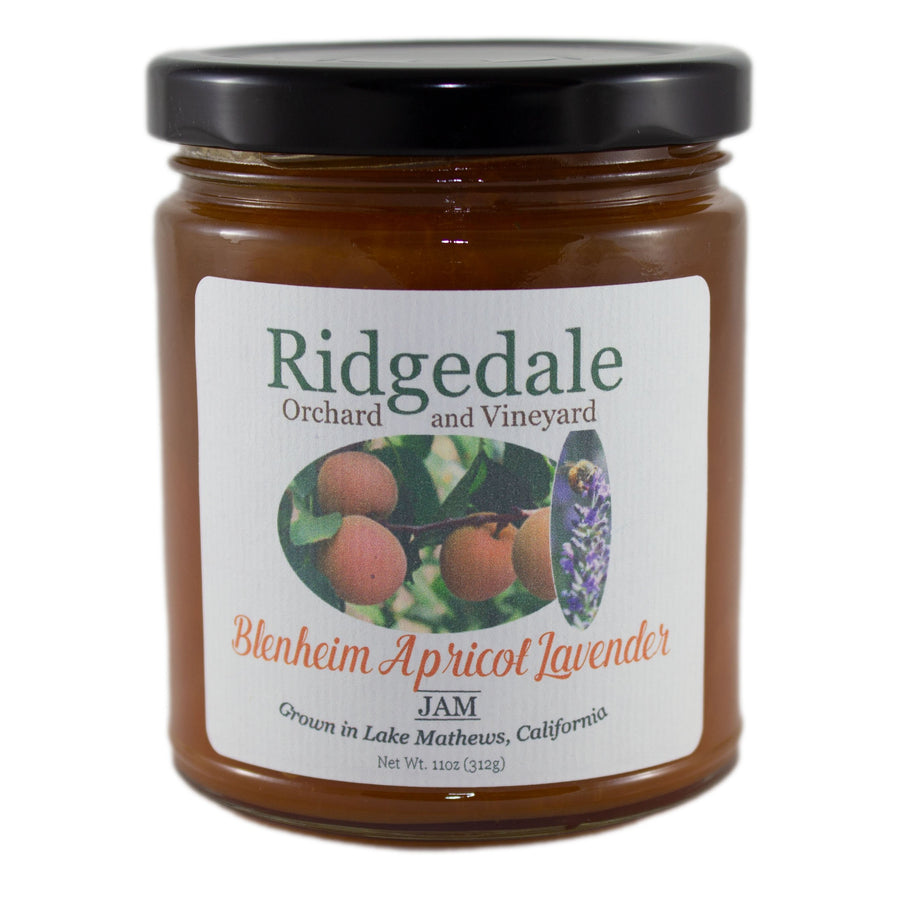 Blenheim Apricot Jam with Lavender - Ridgedale Orchard & Vineyard