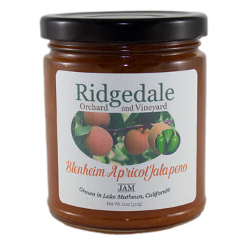 Blenheim Apricot Jam with Jalapeno - Ridgedale Orchard & Vineyard