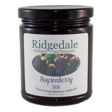 Boysenberry Jam - Ridgedale Orchard & Vineyard