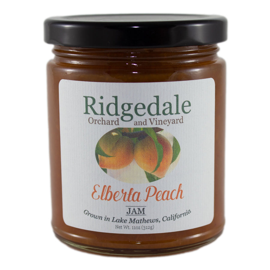 Elberta Peach Jam - Ridgedale Orchard & Vineyard