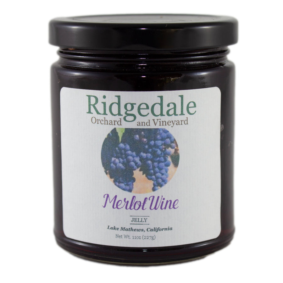 Merlot Wine Jelly - Ridgedale Orchard & Vineyard