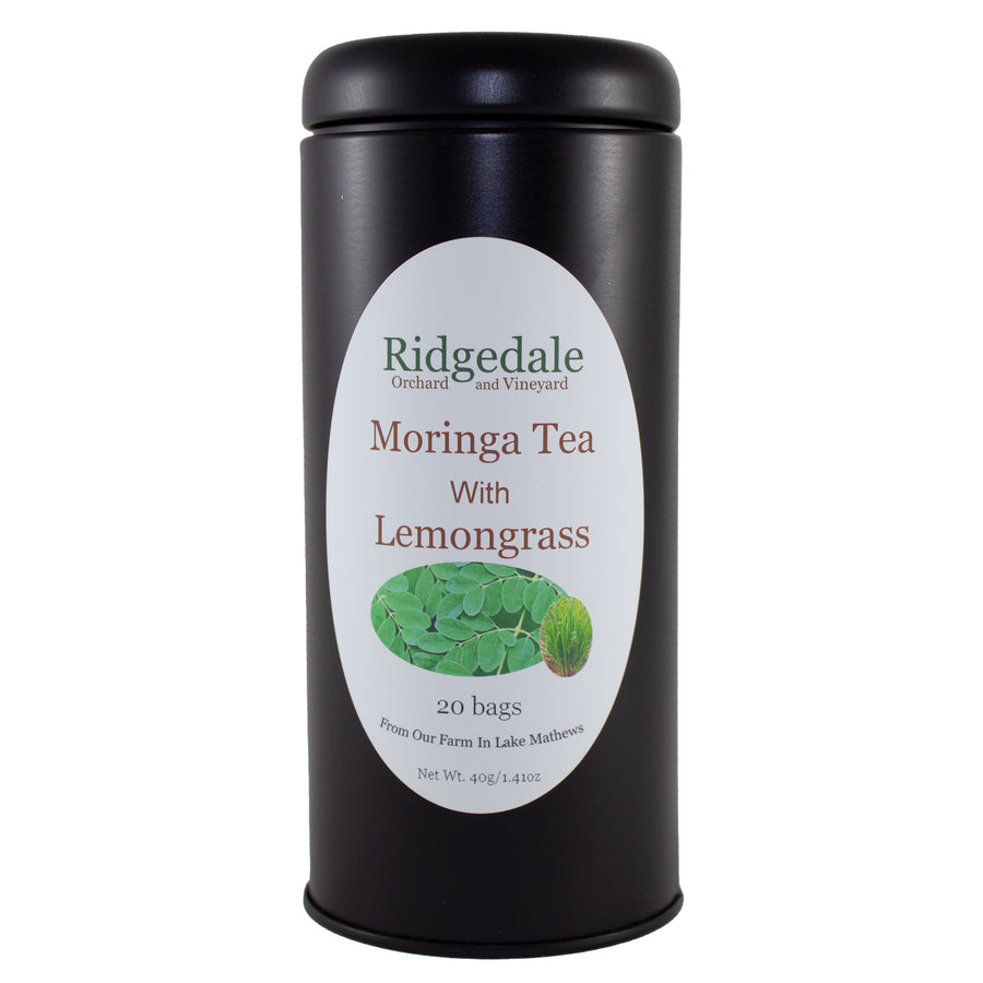 Moringa Tea with Lemongrass in Tin