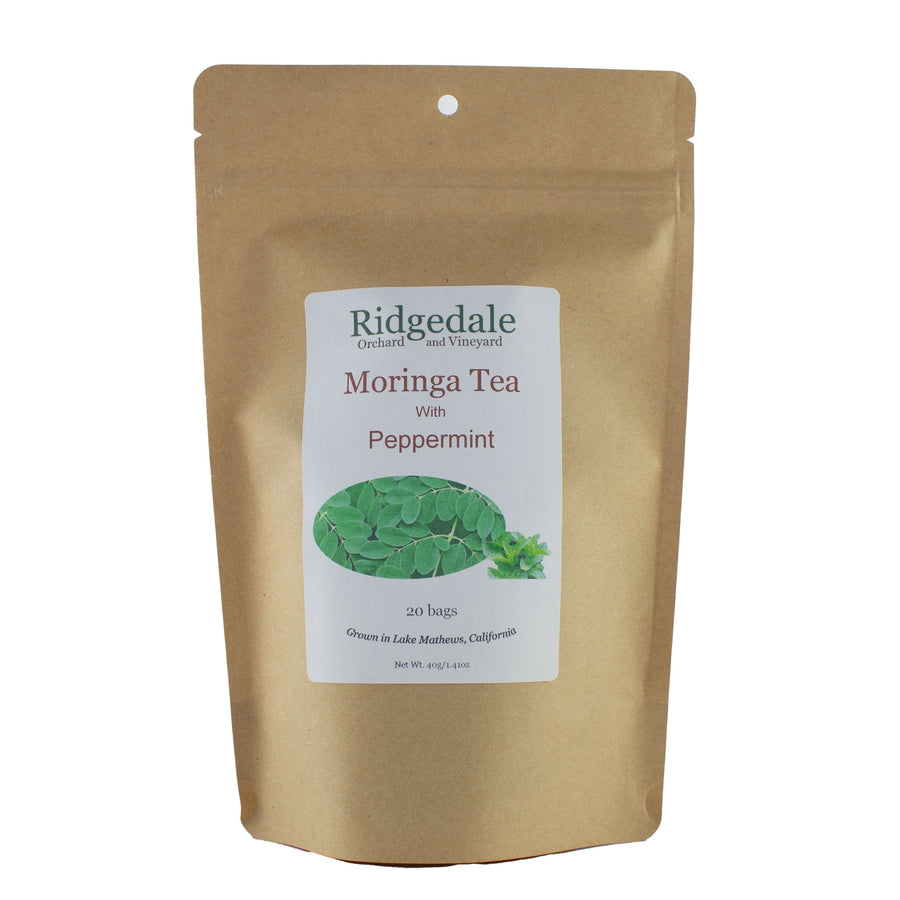 Moringa Tea with Peppermint - Ridgedale Orchard & Vineyard