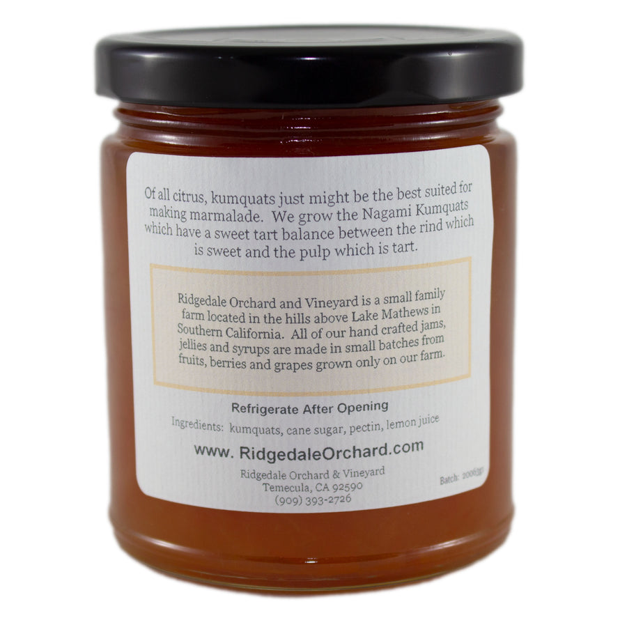 Nagami Kumquat Marmalade from Ridgedale Orchard and Vineyard