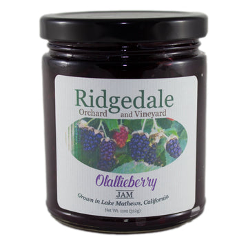 Olallieberry Jam - Ridgedale Orchard & Vineyard