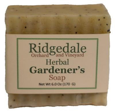 Gardener's Soap - Ridgedale Orchard & Vineyard