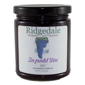 Zinfandel Wine Jelly - Ridgedale Orchard & Vineyard