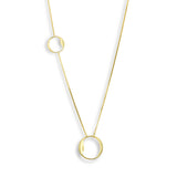 Asymmetrical Circle Necklace