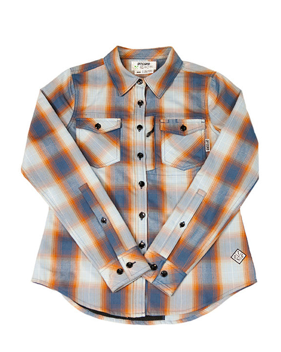 Bailey Technical Flannel - Pale Blue - PREORDER