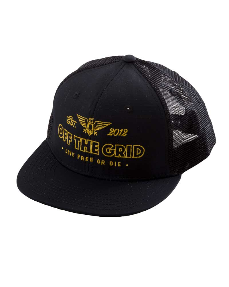 Escape-the-Grid-Trucker-Hat-Black-OFF-THE-GRID