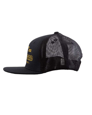 Escape-the-Grid-Trucker-Hat-Black-Side-OFF-THE-GRID