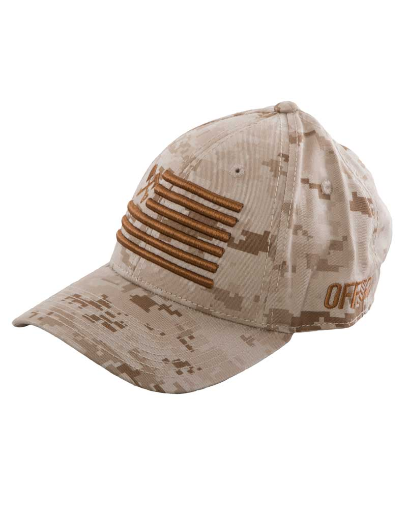 Gunnar-Curved-Bill-Hat-Desert-Camo-FRONT-SIDEOFF-THE-GRID