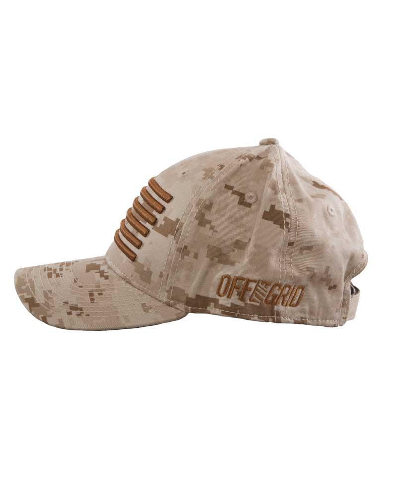 Gunnar-Curved-Bill-Hat-Desert-Camo-side-OFF-THE-GRID