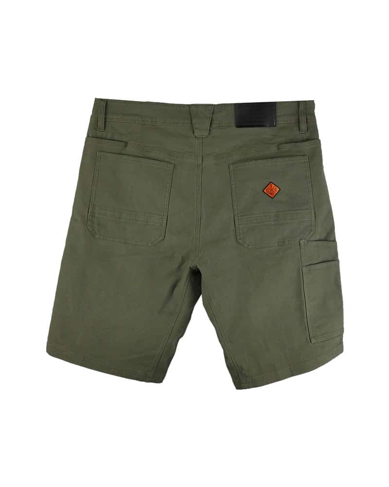 Havok-Shorts-10-Inch-Dark-Olive-Back-OFF-THE-GRID