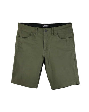 Havok-Shorts-10-Inch-Dark-Olive-Front-OFF-THE-GRID