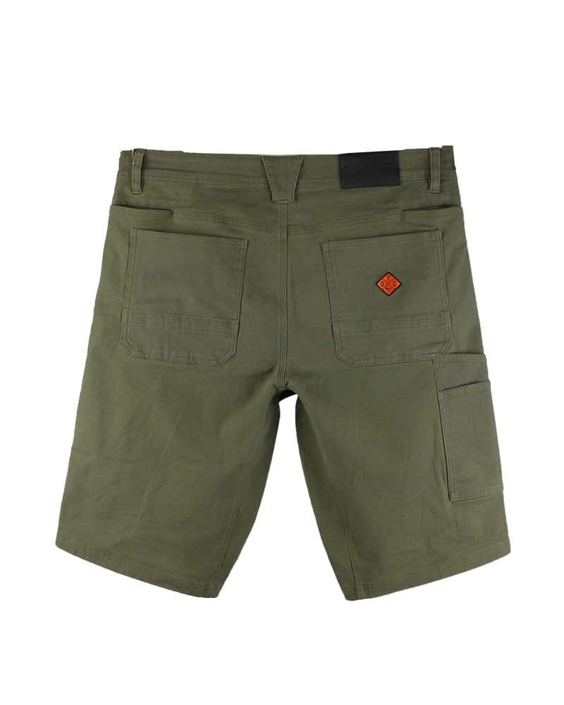 Havok-Shorts-12-Inch-Dark-Olive-Back-OFF-THE-GRID