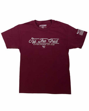 J-Train-Tee-Maroon-Front-Off-The-Grid