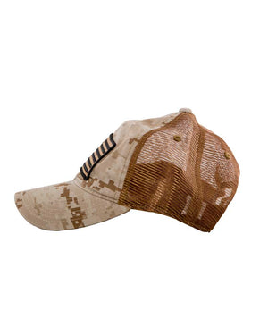 Old-Glory-Curved-Bill-Desert-Camo-side-OFF-THE-GRID