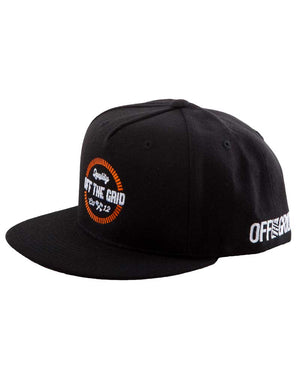 Round-And-Round-Snapback-Hat-Black-OFF-THE-GRID