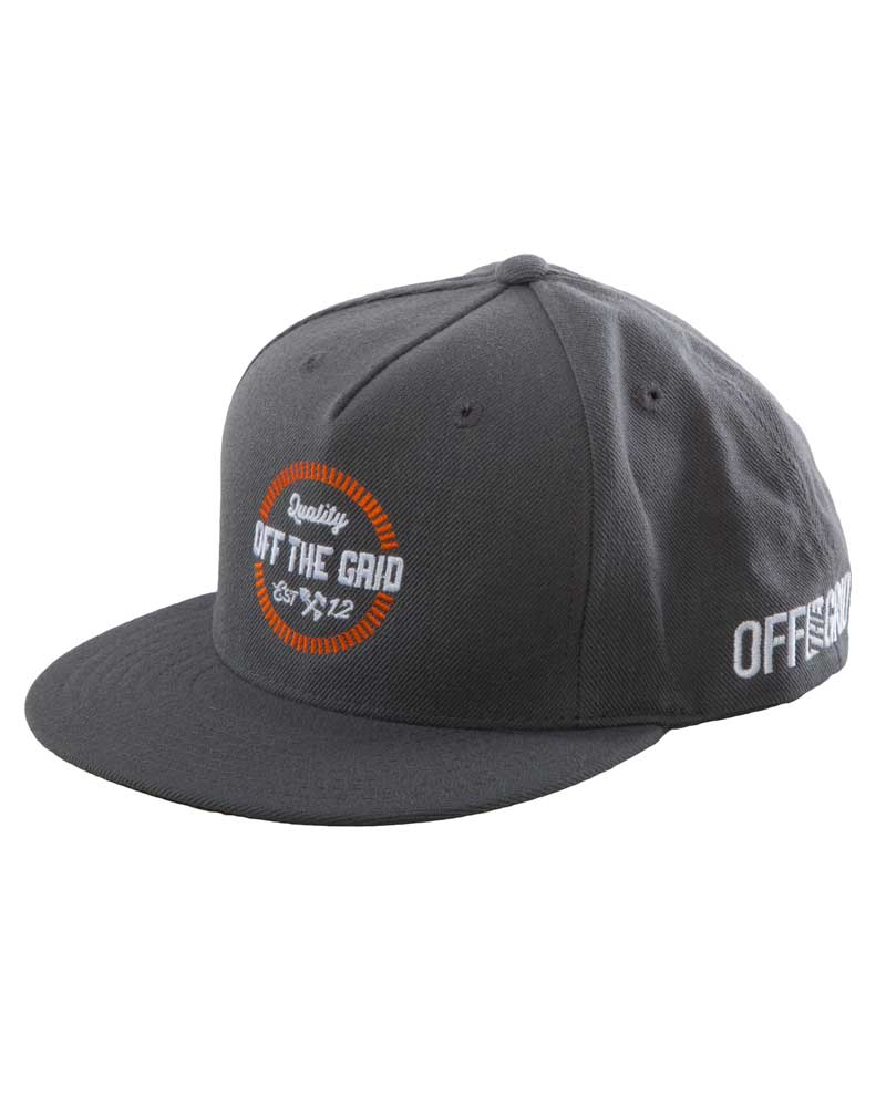 Round-And-Round-Snapback-Hat-Charcoal-OFF-THE-GRID