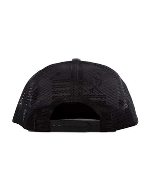 Shovel-N-Bars-Trucker-Hat-Black Back-OFF-THE-GRID