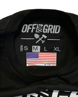 Off The Grid Solid Logo Tee - MADE IN USA