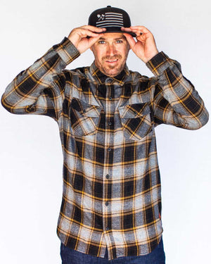 Stampede-Flannel-Grey-Front2-OFF-THE-GRID