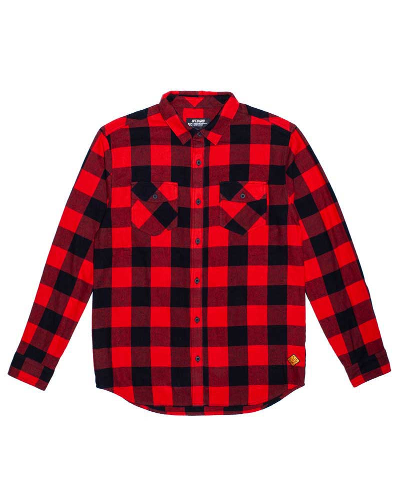 Stampede-Flannel-Red-laydown-OFF-THE-GRID