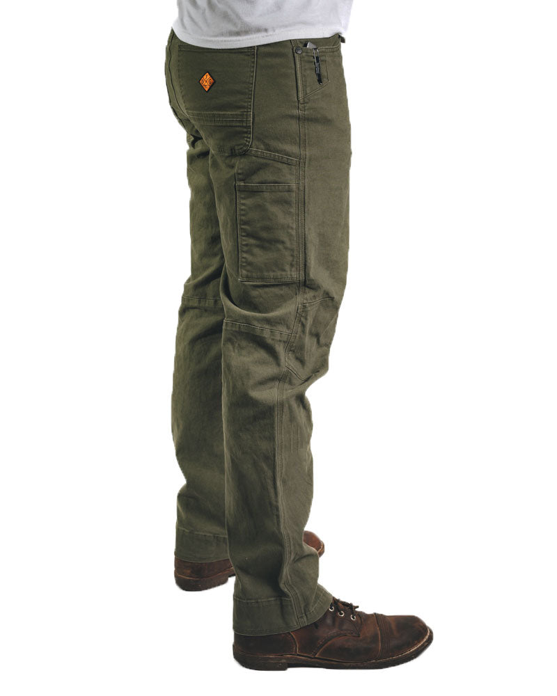 Trailblazer 4.0 Pants - Dark Olive - Taper Fit