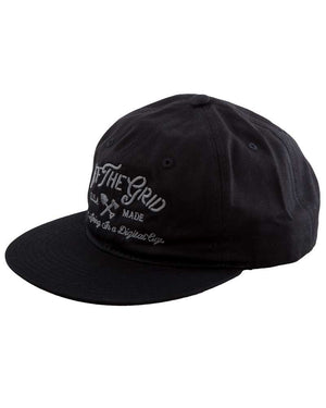 Tribal-Living-Unstructured-Hat-BLACK-OFF-THE-GRID